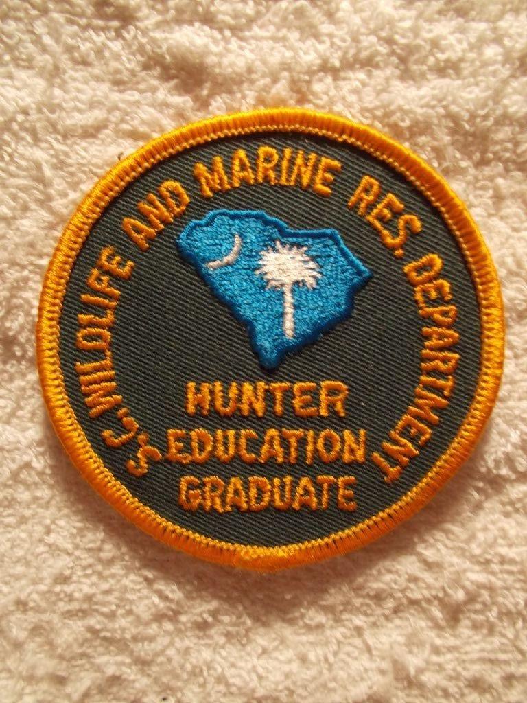 sc dnr hunter education Education, Hunter, Patches