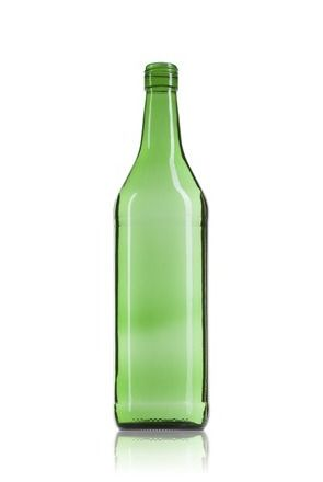 botella de vidrio Vermouth 100 verde comprar botella de vidrio