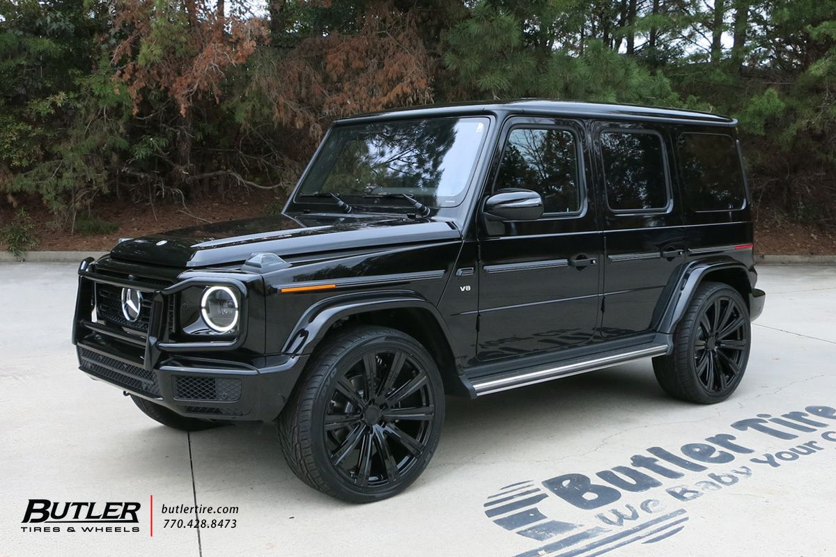 2019 Mercedes G550 Wagon With 24in Avant Garde Agl Vanguard Wheels