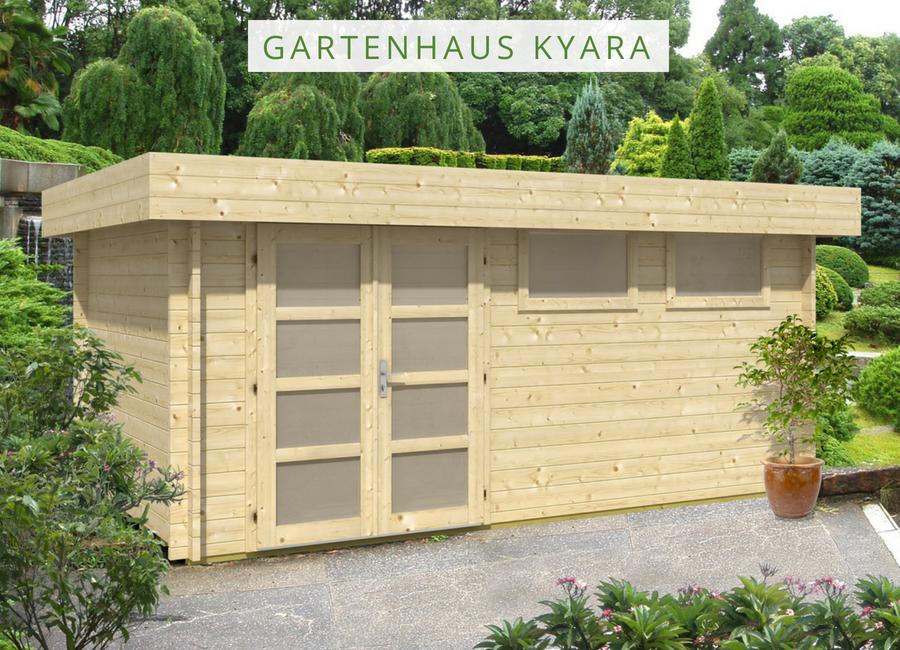Gartenhaus Kyara44 ISO Gartenhaus pultdach, Gartenhaus