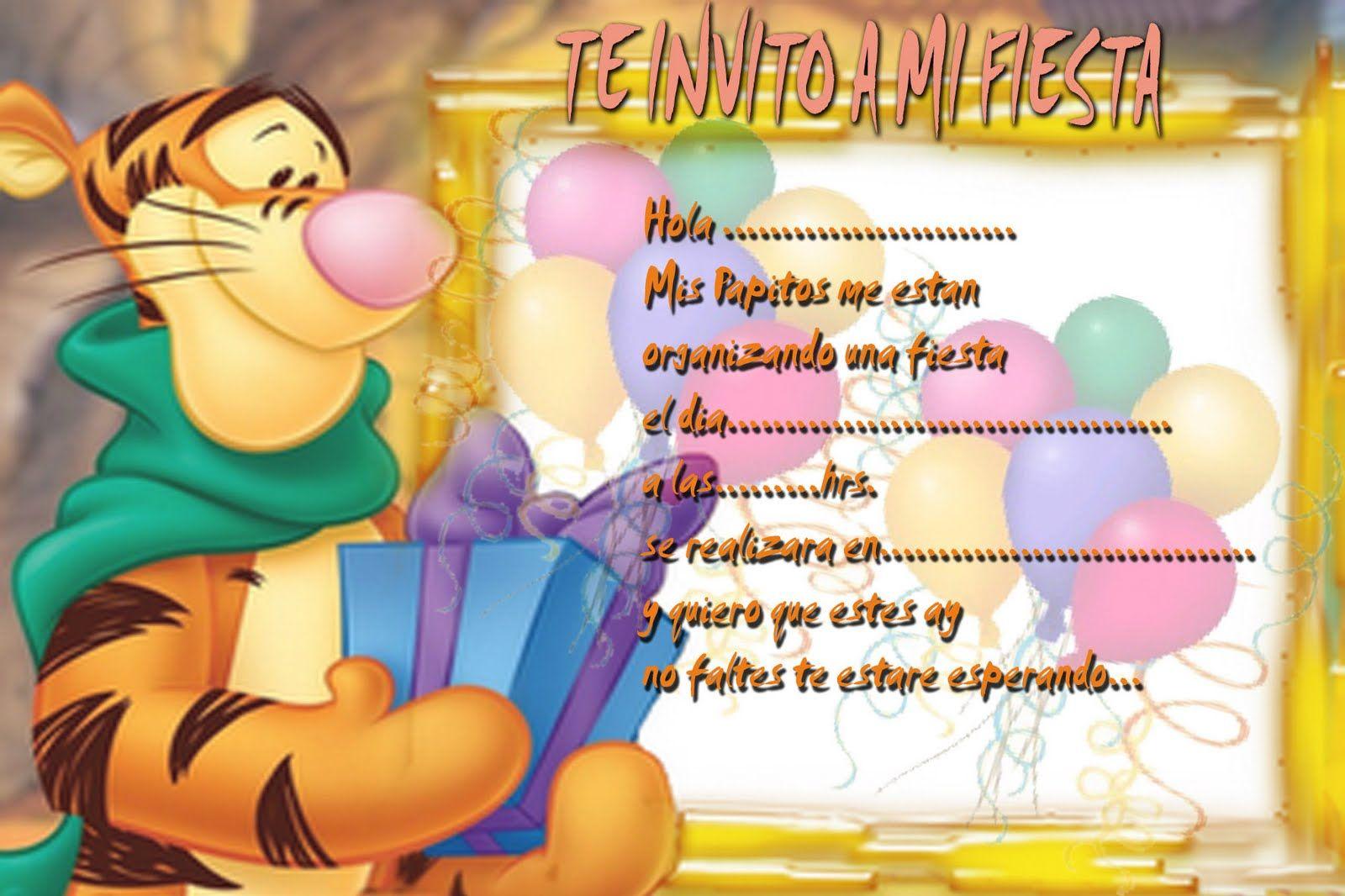 Tarjetas De Cumpleaños Winnie Pooh Bebe Para Enviar Por Correo 4 cumple juani Tarjetas de