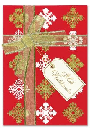Golden bow christmas greeting card golden bow christmas greeting golden bow christmas greeting card m4hsunfo