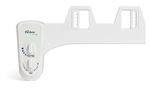 Biobidet Elite 3 Dual Nozzle Non Electric Mechanical Bidet Bidet Toilet Seat Water Spray Toilet