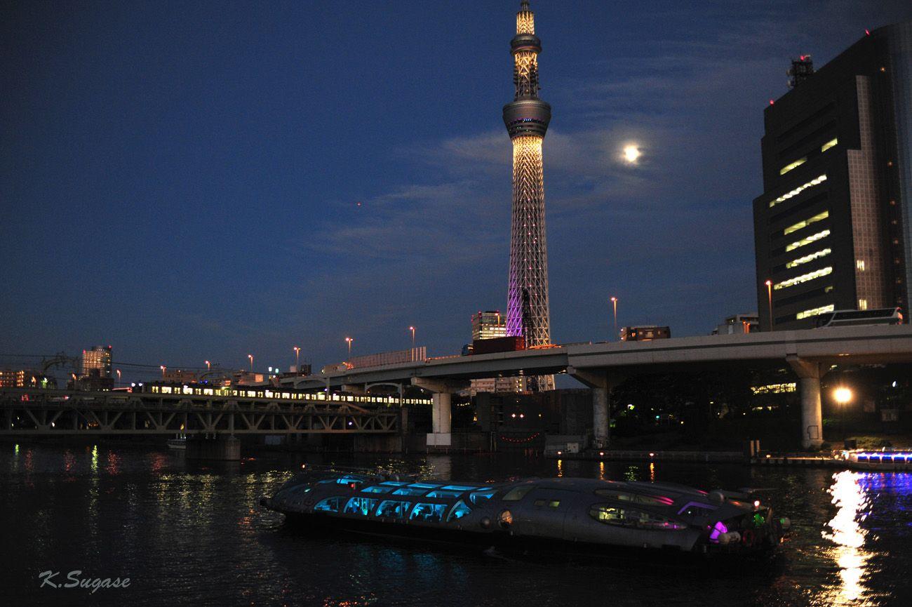 Moonlight Reverie in Asakusa