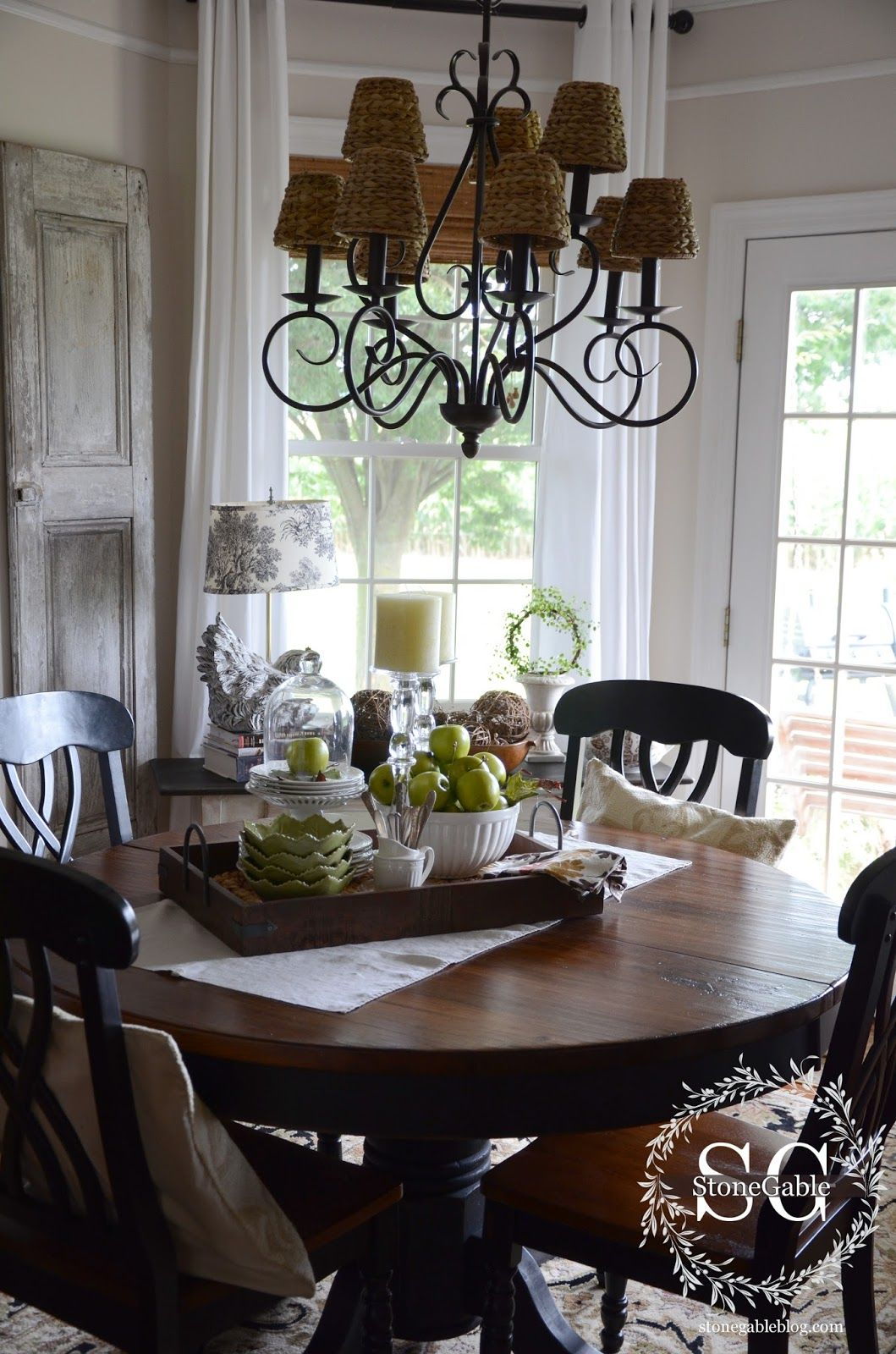 Kitchen Table Centerpieces