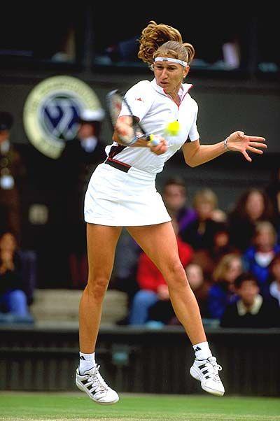 Steffi Graf Wimbledon Tennis Tennisspieler Sportler Sport