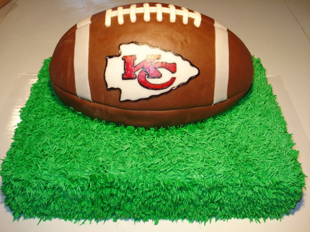 Kansas City Chiefs Cake Cupcakes Made With The Customary Red Black