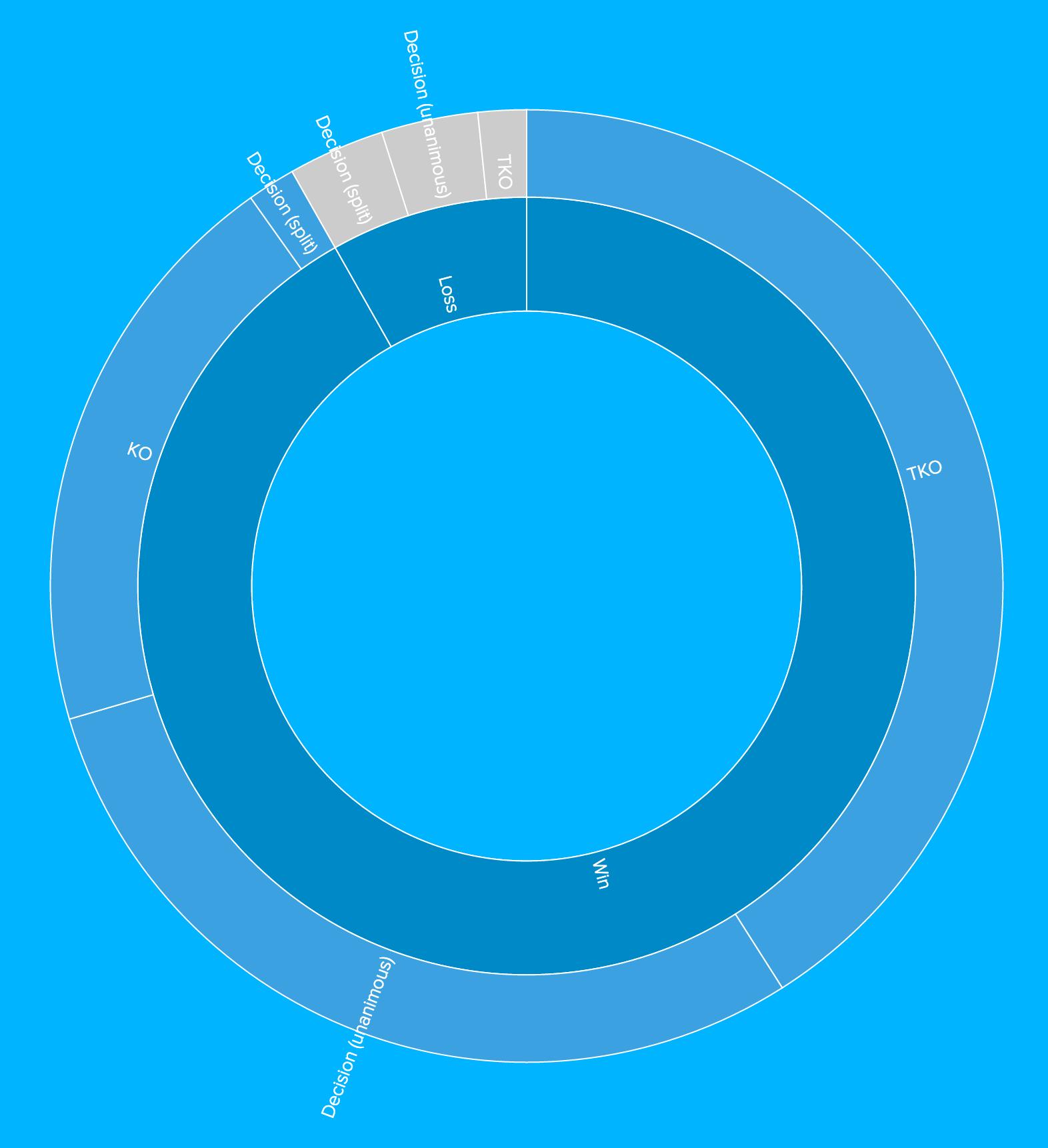Sunburst Chart | BIME by Zendesk | Sunburst (topic wheel