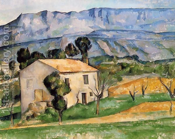 Road In Provence 1868 Paul Cezanne Paul Cezanne Cezanne Post Impressionists