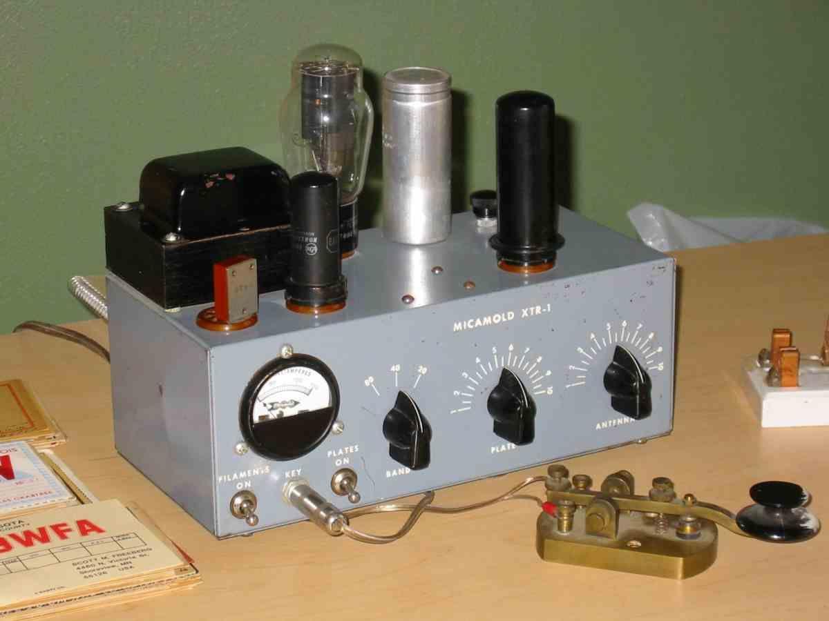 6l6 Single Tube Transmitter