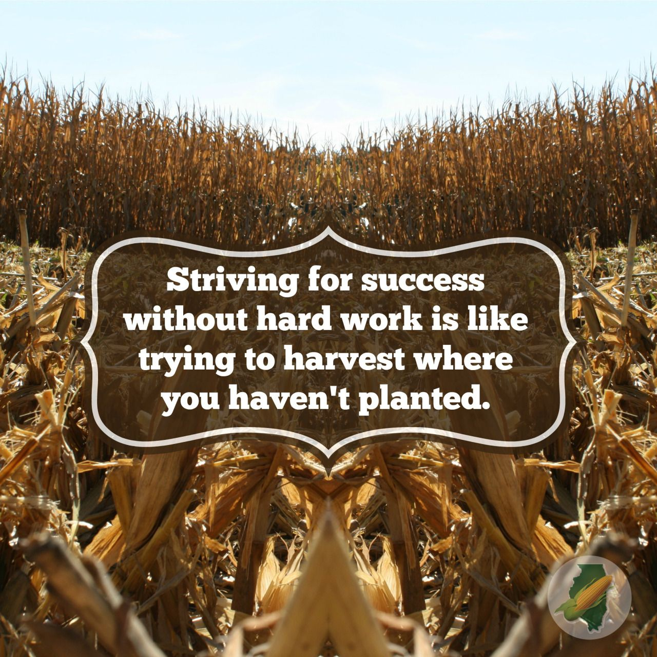 Farming Quotes Success Without Hard Work  Farming  Pinterest  Hard Work