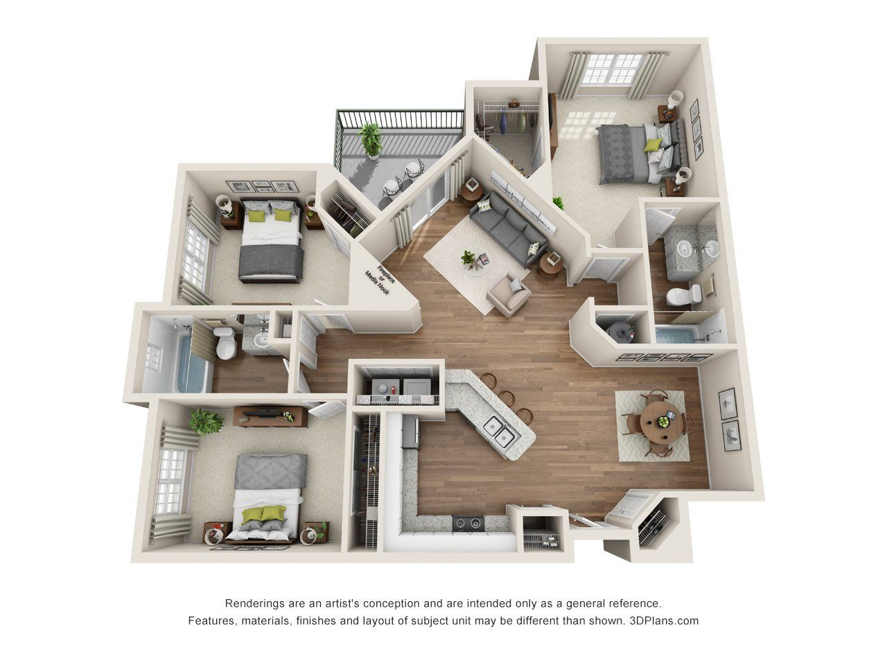 The Nottingham 3 Bed 2 Bath Give Us A Call For A Tour 844 358 0840 Sims House Plans House Plans House Layouts