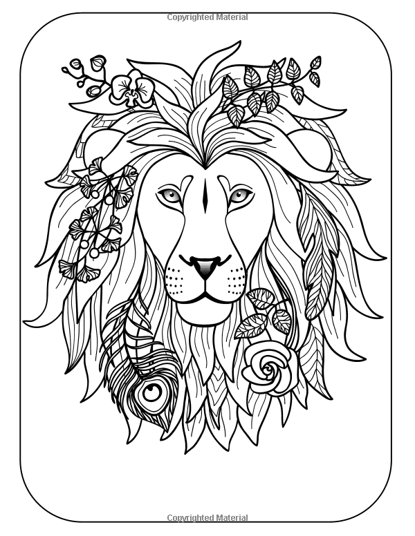 Wild & Free: Coloring Books For Adults Featuring Amazing Animal ...