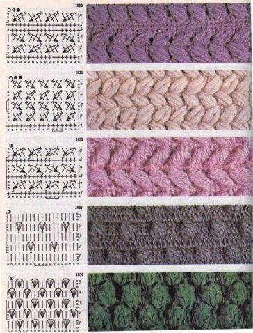 Punti Facili Uncinetto.Pin Su Crochet Stitches And Granny Square Punti Uncinetto E