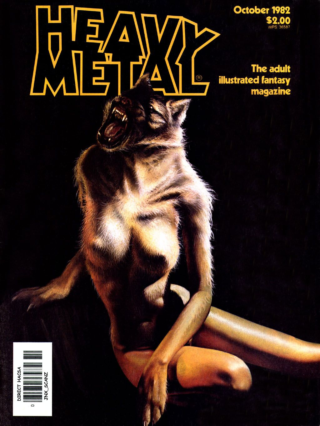 Heavy Metal mag Volume 6, Issue 7