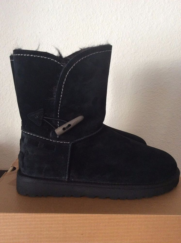 84733ff957d NIB UGG Australia Meadow Black Convertible Cuff Boot Boots, US 9 ...