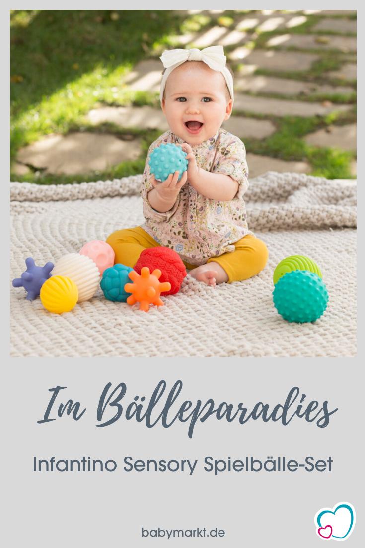 Infantino Sensory 10 Teile Spielballe Set Babymarkt De In 2020