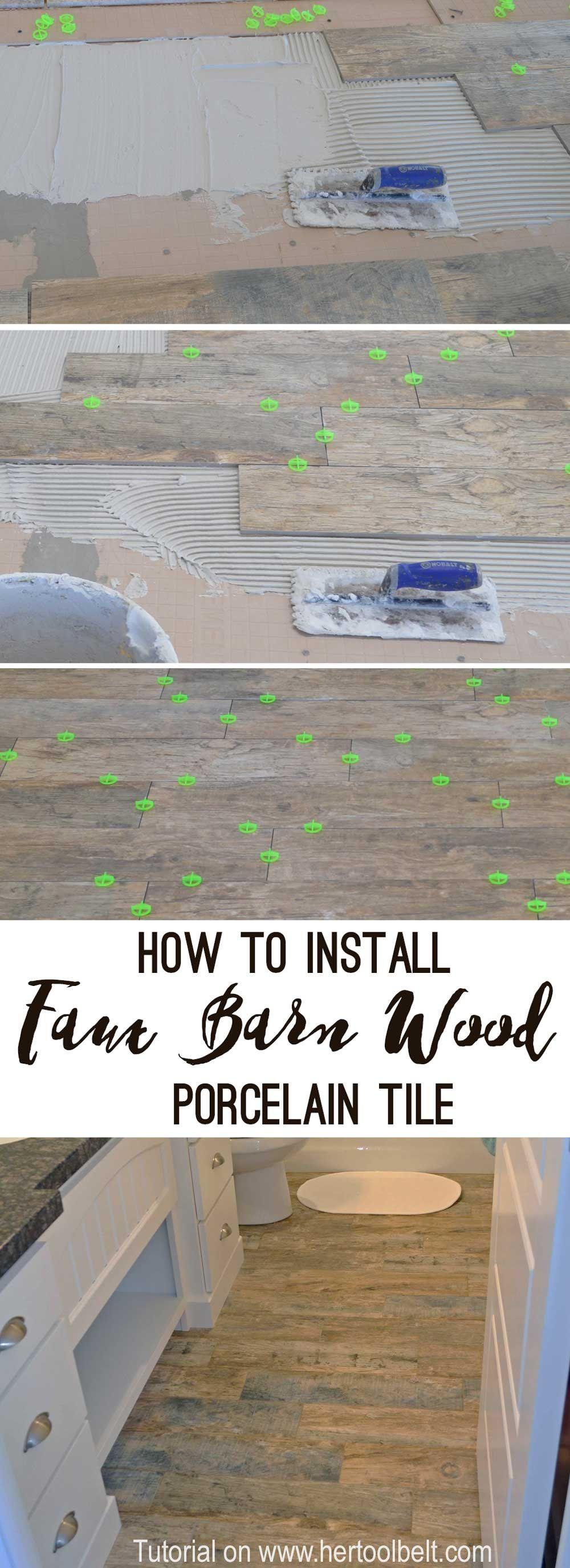 how to install wood tile barnwood awesome diy and home decor tile floor diy tile steps. Black Bedroom Furniture Sets. Home Design Ideas