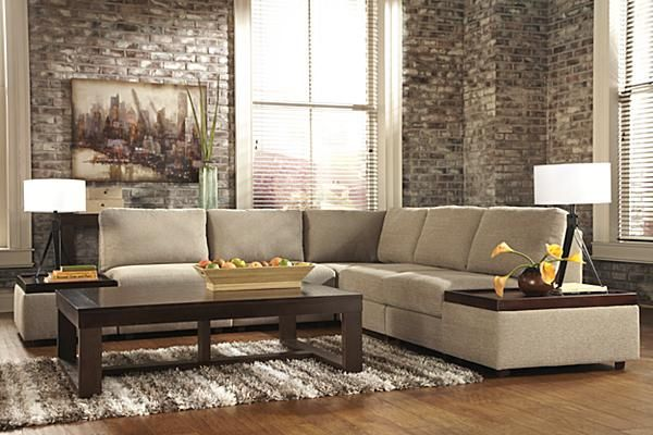 The Tosha 7-Piece Sectional from Ashley Furniture HomeStore (AFHS