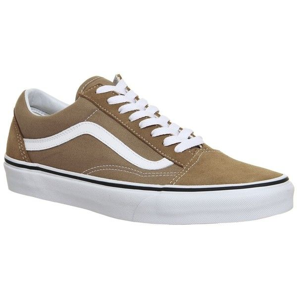 9d1574241c7 Vans Old Skool Trainers (€63) ❤ liked on Polyvore featuring shoes ...