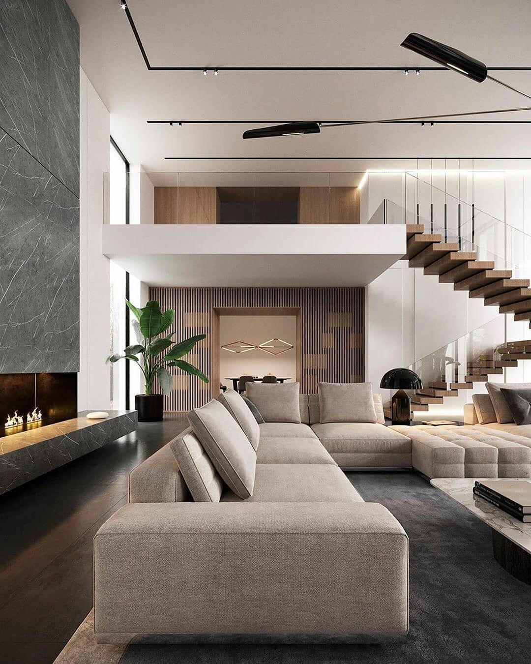 Modern Interior Design On Instagram What A Spectacular Interior Fol In 2020 Interior Design Apartment Small Modern Living Room Interior Apartment Interior Design