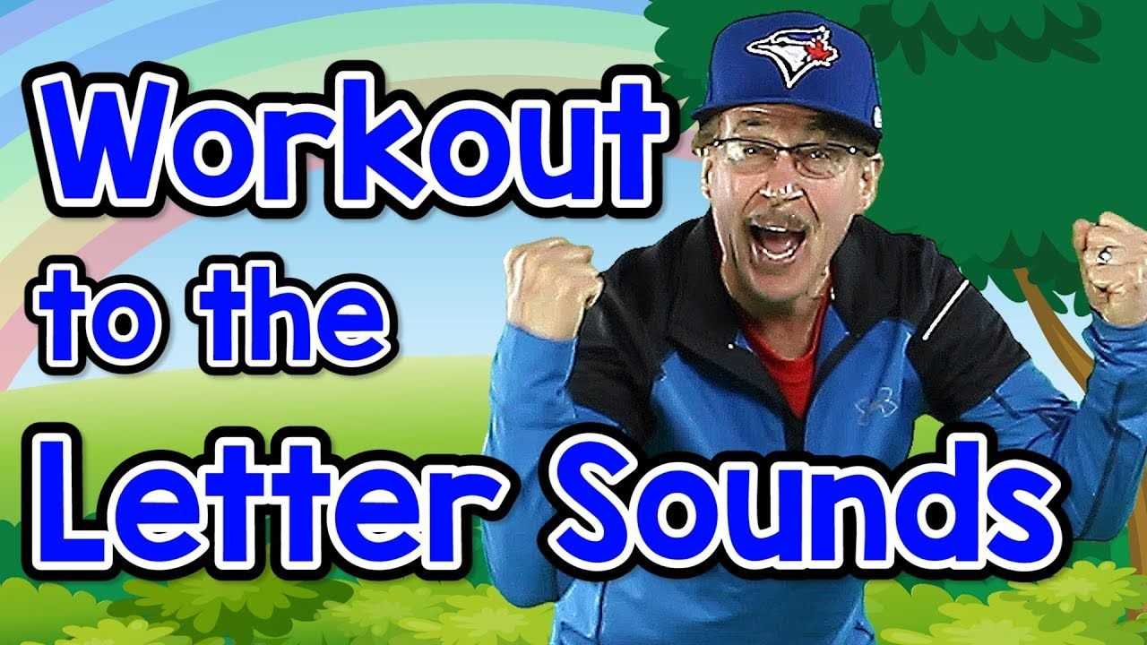 Workout to the Letter Sounds Letter Sounds Song