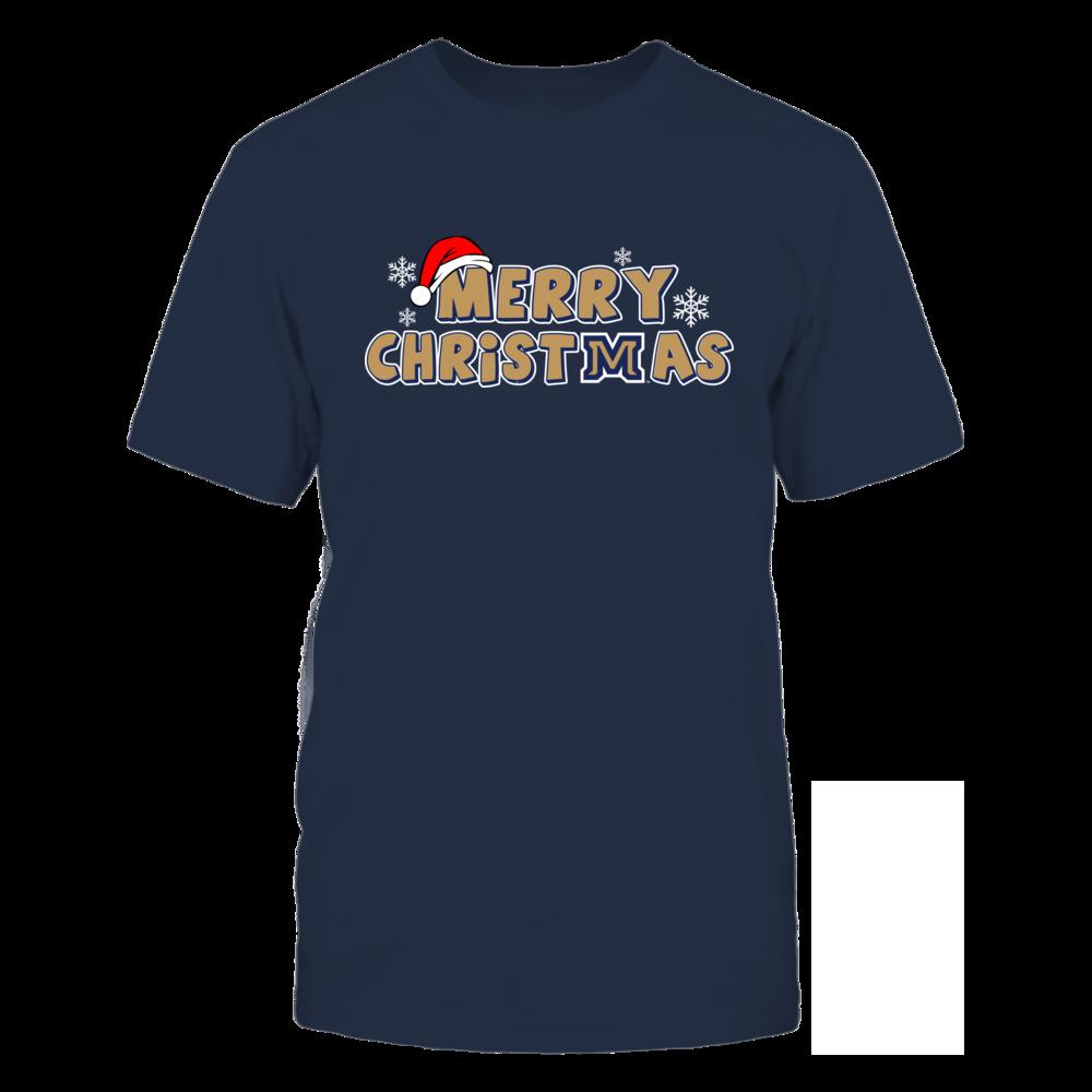 Montana State Bobcats Merry Christmas Logo