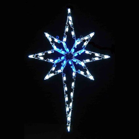Star Of Bethlehem C7 Led Light Display 4 8 Ft H