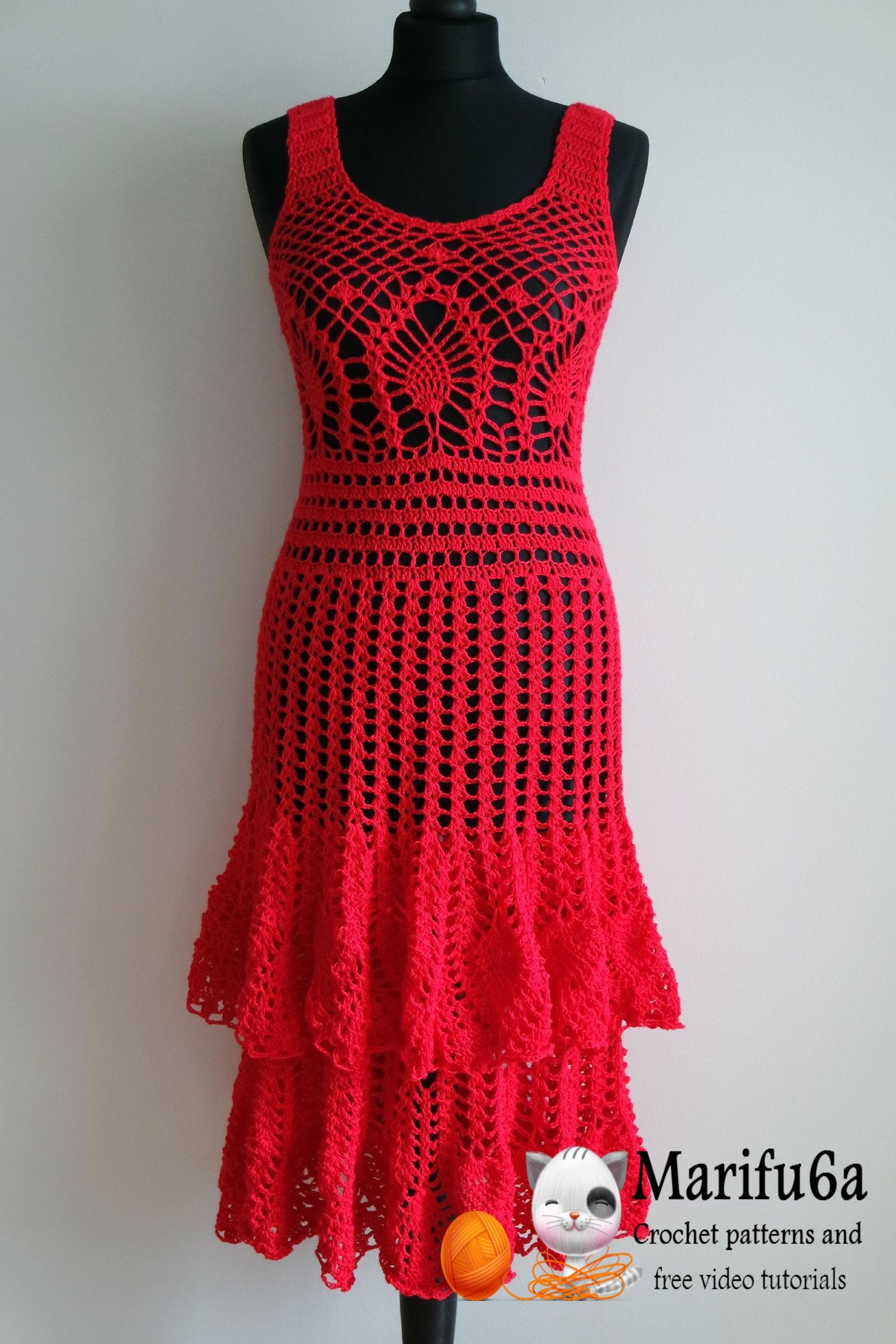 Crocheted Dress Patterns Just in Time for Christmas! | Crochet ...