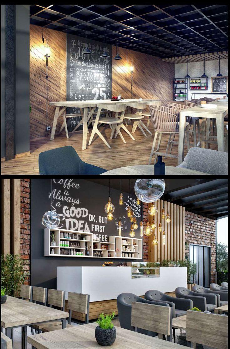 Cafe Restaurant Interior Design And Application Projects Cafe Restoran Ic Mekan Tasari Cafe Interior Design Cafe Bar Design Restaurant Interior Design