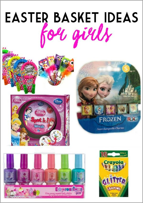 Easter basket ideas for girls kid blogger network activities easter basket ideas for girls negle Image collections