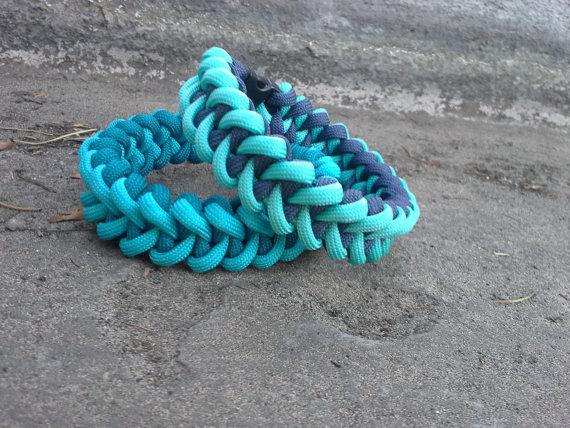 Shark's Jaw  Custom Paracord Bracelet by ThatKnottyGirl on Etsy