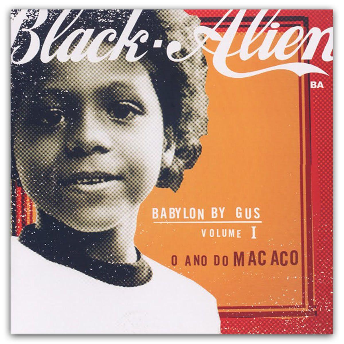 LP Black-Alien Babylon By Gus Volume 1 O Ano do Macaco