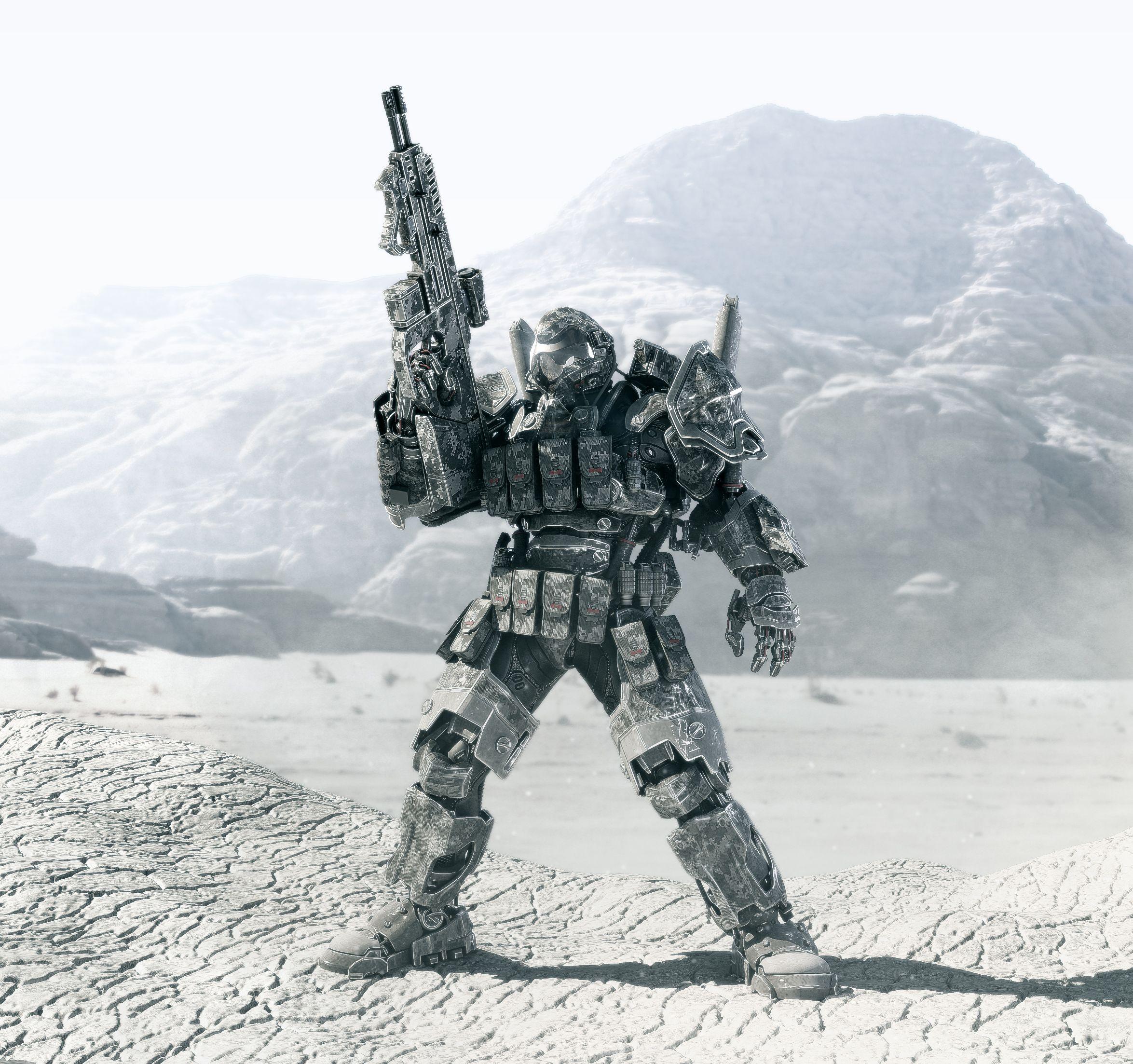 super soldier code name Chimera final render WIP 1 by Avitus12.deviantart.com on @deviantART