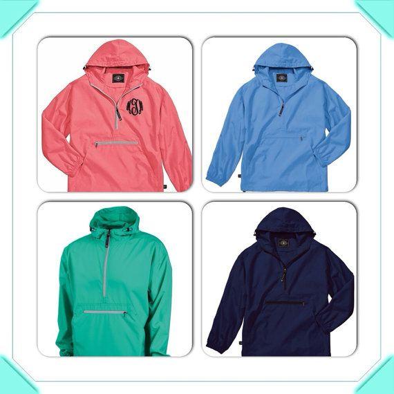 Monogrammed Pack N Go Pullover Adorable by SimplyStephsMonogram