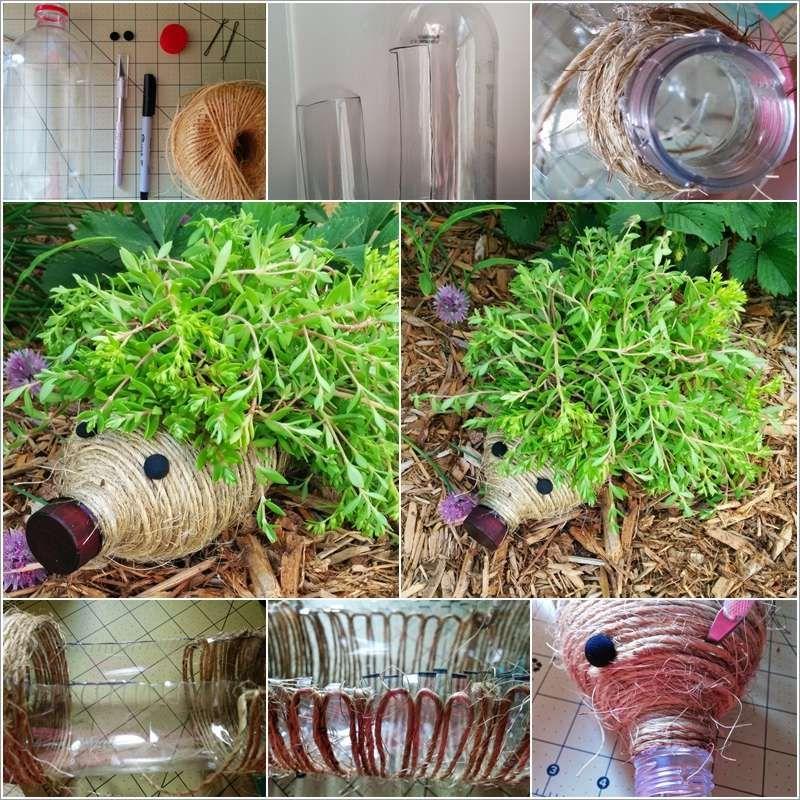 10 Creative Vegetable Garden Ideas: 10 DIY Garden Creature Ideas Made From Recycled Materials