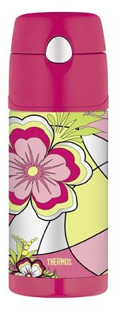 Thermos Funtainer 355ml Drink Bottle - Mod Floral