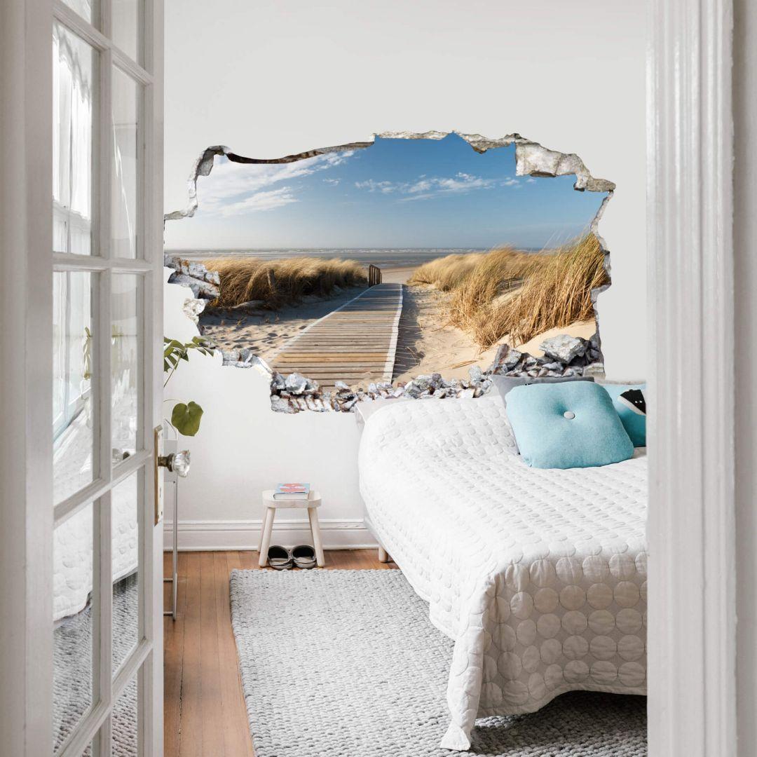 3d Wandtattoo An Der Ostsee Wandtattoo Schlafzimmer 3d Wandtattoo Zimmer Dekoration Diy