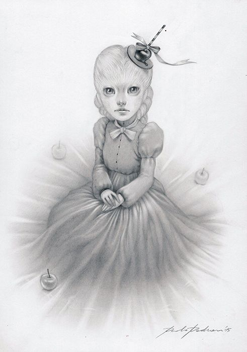 Proud Drawing - PAOLO PEDRONI ART