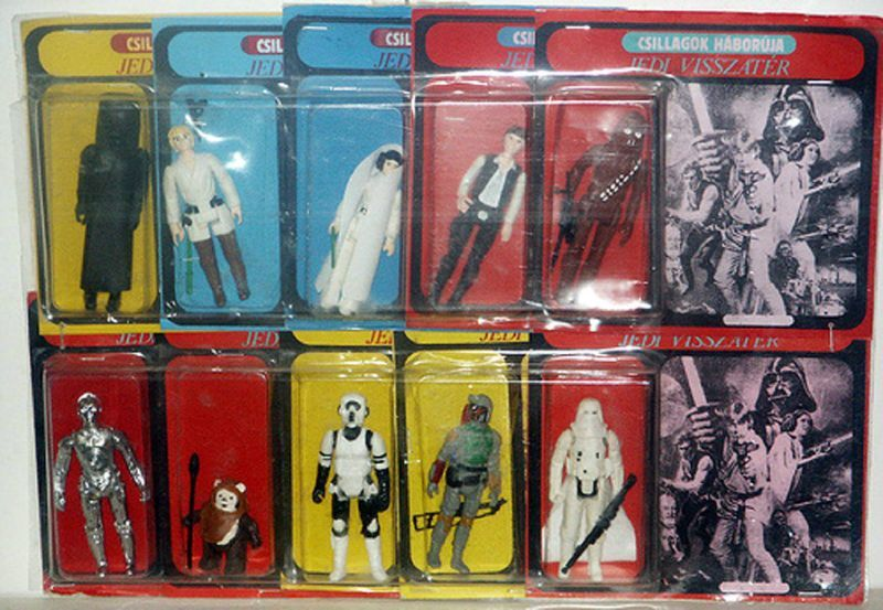 Inside the 'Star Wars' Bootleg Toy Boom: How Cheapo Oddities Became