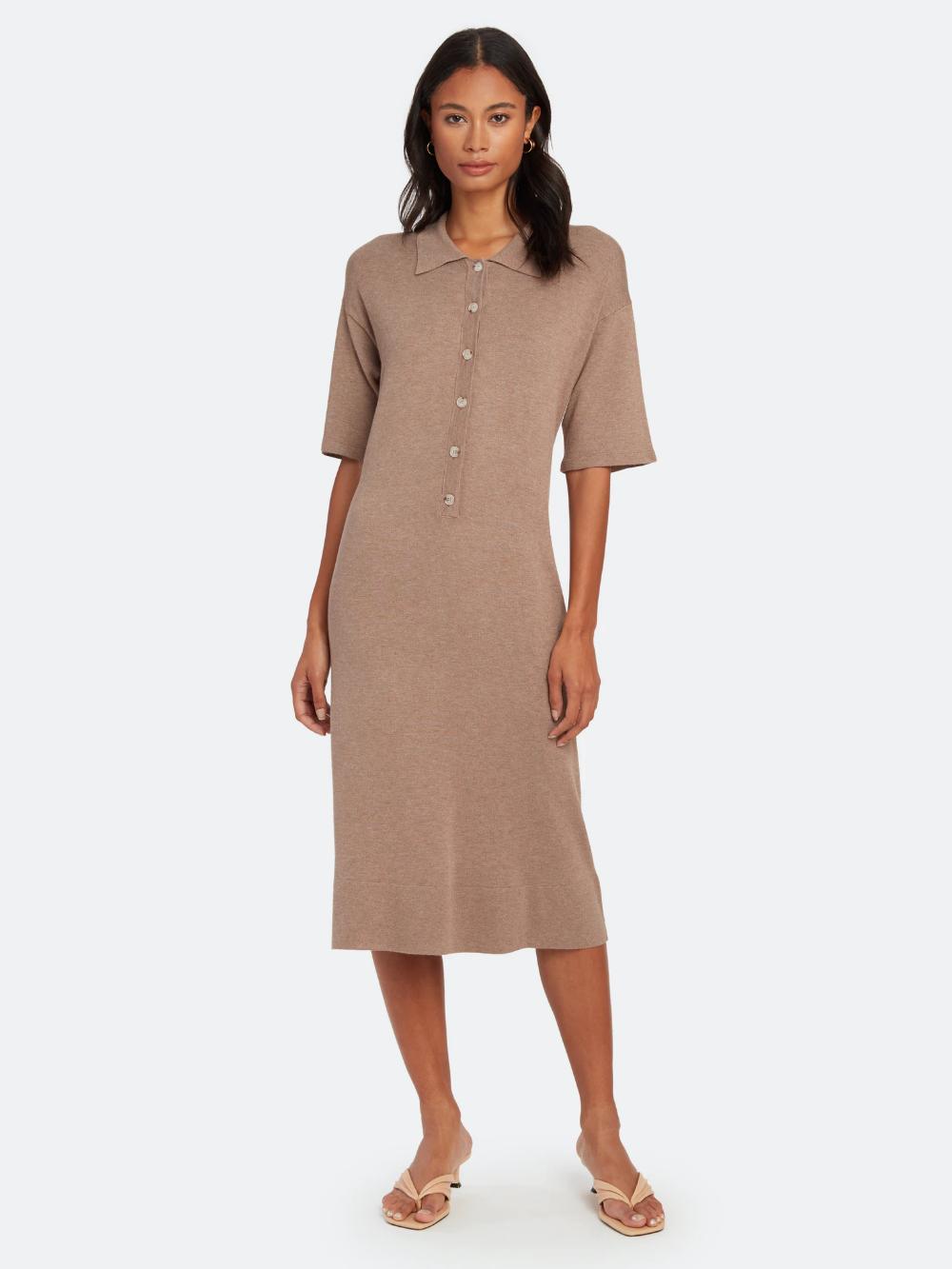 NORR Chelsea Knit Midi Dress in 2020 Knit midi dress