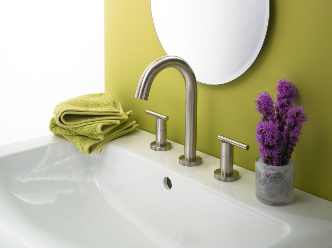 Danze Parma Two Handle Trim Line Faucet Lavatory