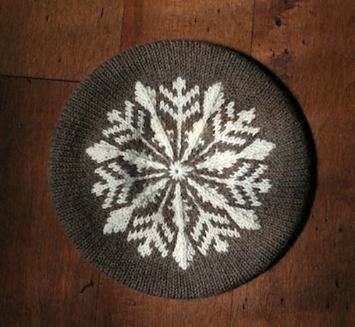 Ravelry: EweKnitToronto's Hill Beret    Knit in Classic Elite Vista and perfect for fall!