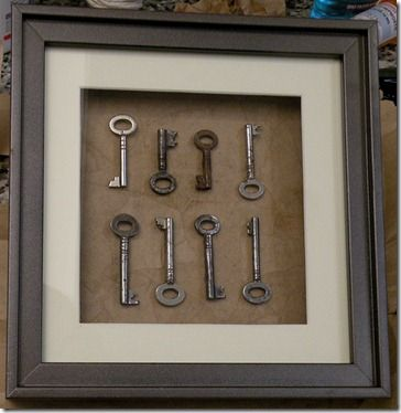 @Cait Unites Hayes - make this with those skeleton keys from mom and dad's old house!