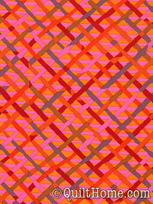 Brandon Mably Pwbm037 Red Fabric Fabric Patterns Surface Design