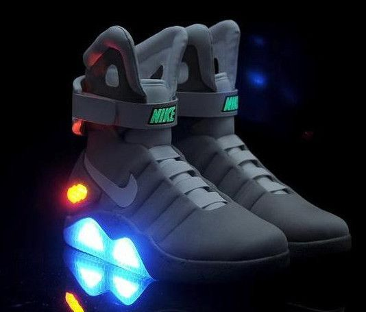 209c0c63f791 Nike Air Mag Men LED Limited Edition Back To The Future McFly Mag Shoes