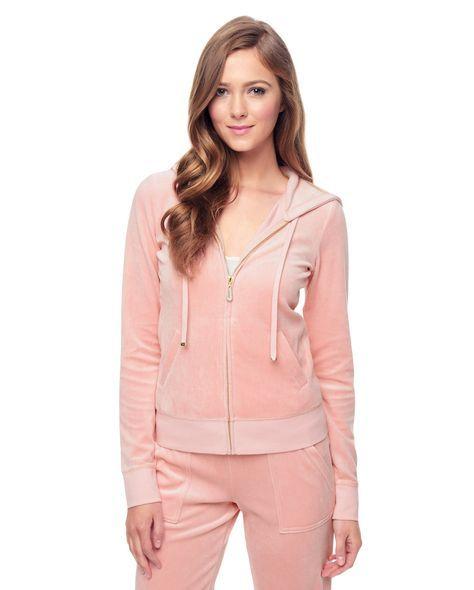 Velour Juicy Couture Track Suit Juicy Couture Velour Jackets Velvet Tracksuit