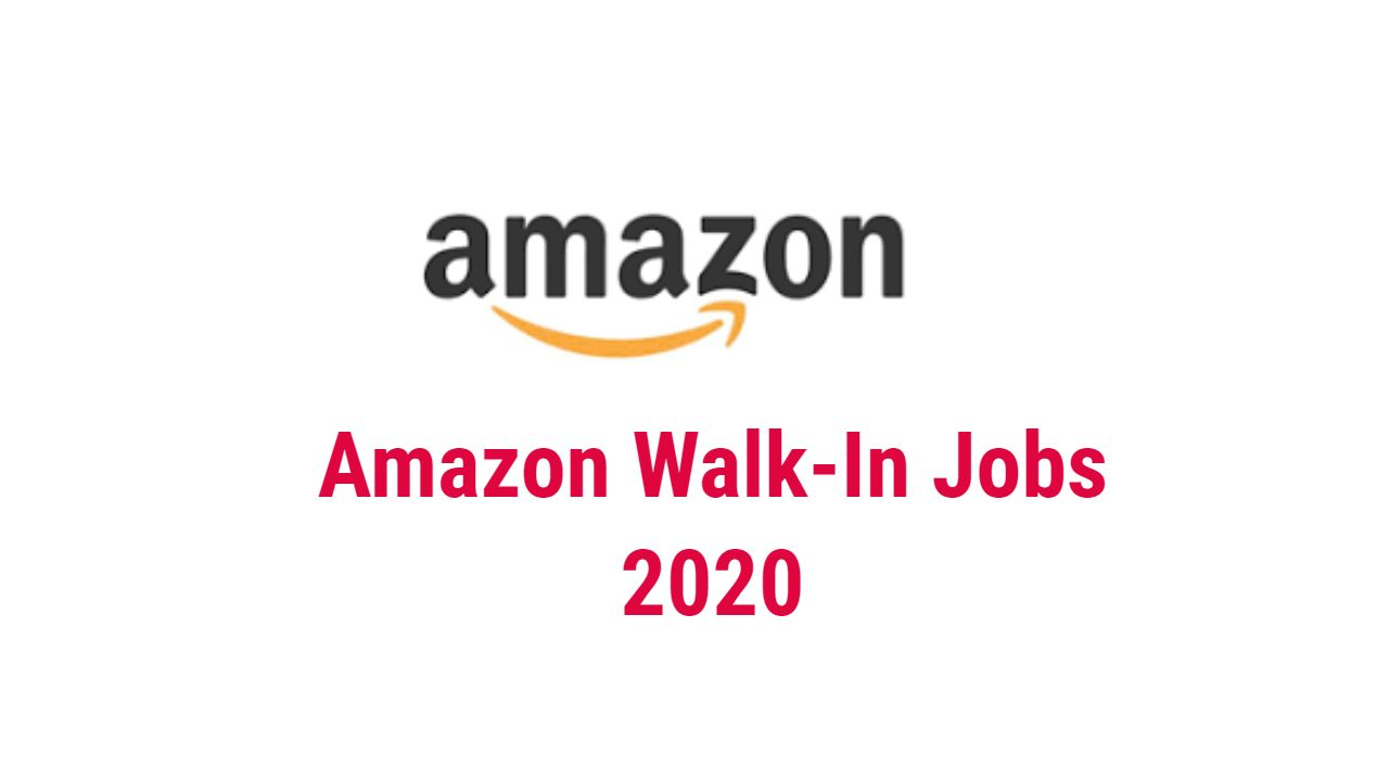 Amazon Walk In Jobs 2020 In Pune In 2020 Effective Time
