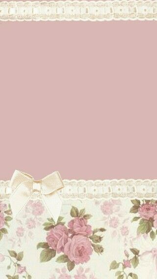 Pink flowers and bow
