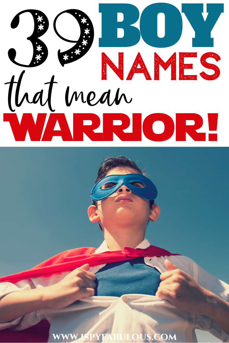 39 Strong Boy Names for Your Little Warrior! in 2020 ...